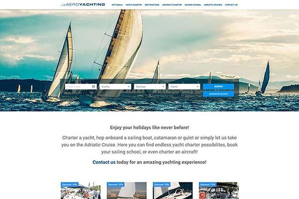 Aeroyachting | Razvoj web aplikacija