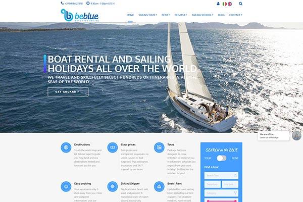 BeBlue Tour | Razvoj web aplikacija