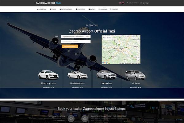Taxi Zagreb | Razvoj web aplikacija